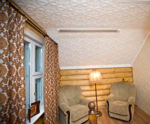 """Создаем атмосферу тепла и уюта на даче с инфракрасными обогревателями от """"Иколайн""""!"""