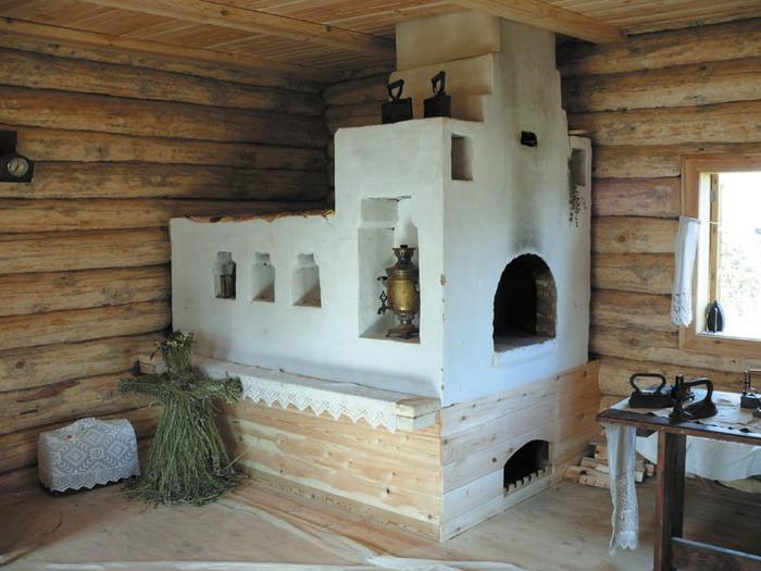 Отопление деревенского домика