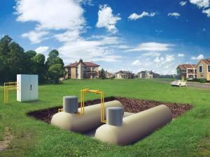 Газгольдер для автономного газообеспечения: азы установки