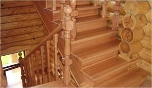 купить лестницу для загородного дома