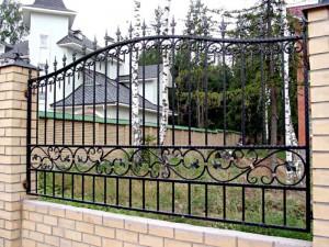Кованые ограды - выбор, определяющий ваш успех