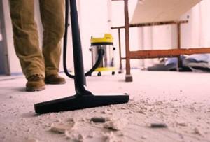 Уборка жилья после ремонта