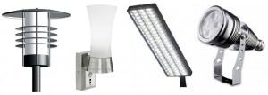 Разновидности уличных светильников