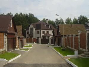 Выбор поселка коттеджного типа