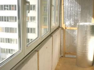 Утепление балкона. Виды теплоизоляции.