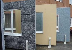 Облицовка фасадов панелями