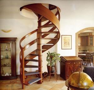Как нужно выбрать винтовую лестницу