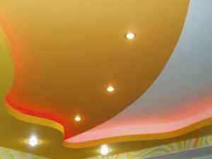 Виды оформления потолков
