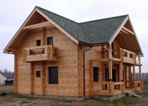 Дом из бруса профилированного