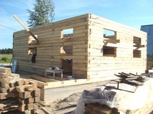 Строим дом из бруса вместе с Obogrev Dom