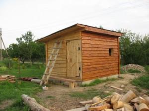 Выбрал деревянный сарай для дачи