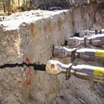Демонтаж конструкций при помощи гидроклина