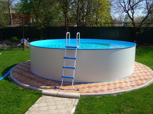 Дизайн у каркасного бассейна
