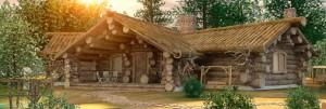 Дома рубленные из бревна на века