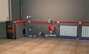 Многие ставят водяное отопление в дома