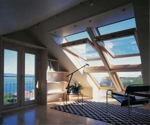Как выбрать мансардные окна