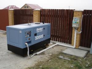 Как выбрать дизельный генератор для дачи