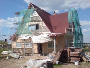 деревянные дома под Киевом