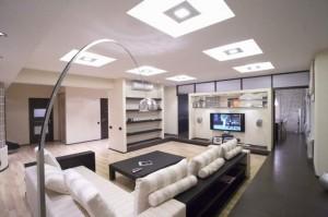 Как выбрать в гостиную хороший осветительный прибор