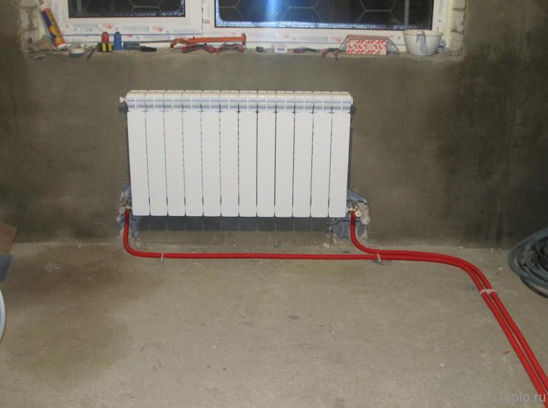 Установка радиаторов отопления своими руками в частном 394