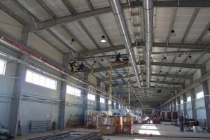 Аппаратура для вентиляции промышленных помещений