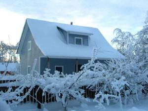 начинаем отапливать загородный домик 1